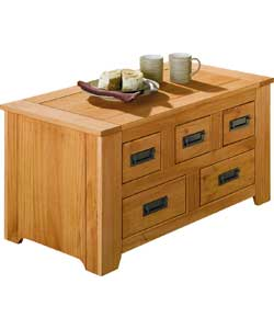 Albans Chest Coffee Table - Solid Pine