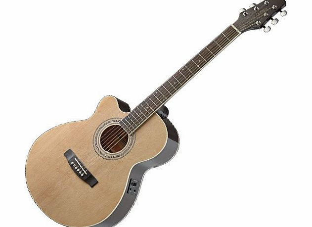 Stagg SA40MJCFI-LH N Electro Acoustic Guitars