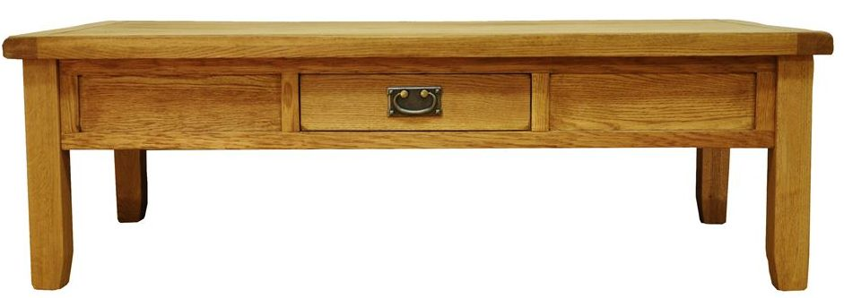 stamford large coffee table with drawer review compare