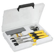 3pc Dynagrip Chisel Set & Sharpening Kit