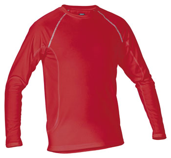 Thermal Baselayer T-Shirt LS Red