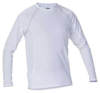 Thermal Baselayer T-Shirt LS White