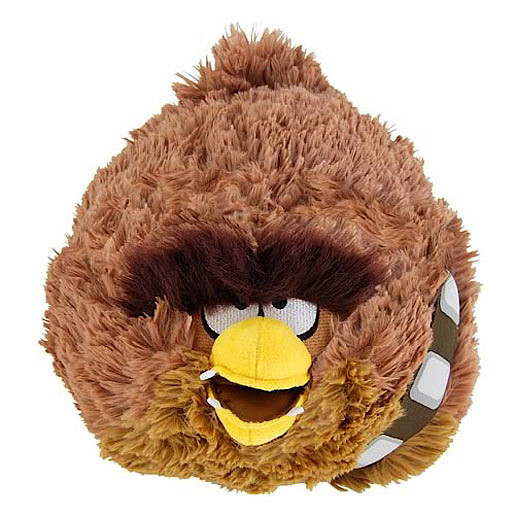Wars Angry Birds Chewbacca Soft Toy