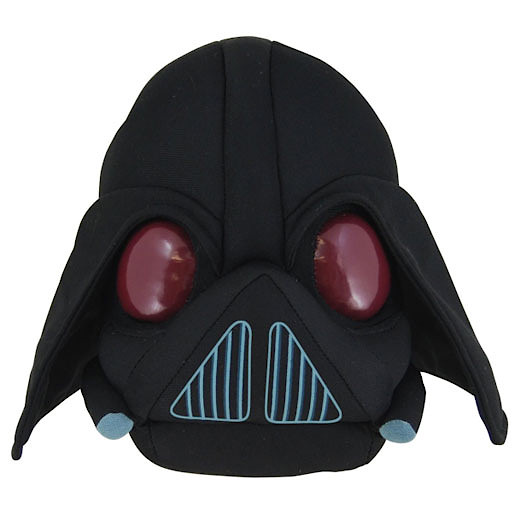 Wars Angry Birds Darth Vader Soft Toy