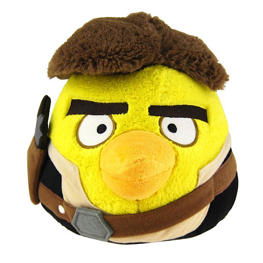 Wars Angry Birds Han Solo Soft Toy