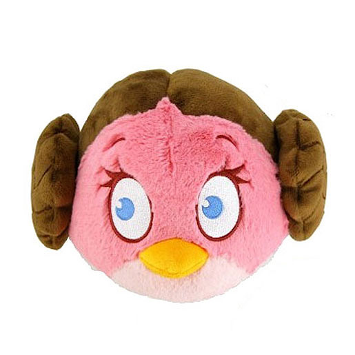Wars Angry Birds Princess Leia Soft Toy