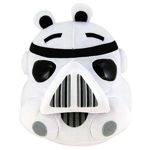 Wars Angry Birds Stormtrooper Soft Toy