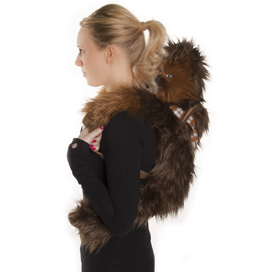 Wars Chewbacca Back Buddy Plush Back Pack