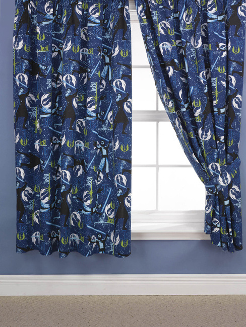Clone Wars Jedi Curtains 54 Drop