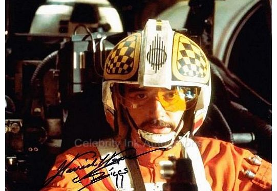 GARRICK HAGON as Biggs Darklighter - Star Wars Genuine Autograph