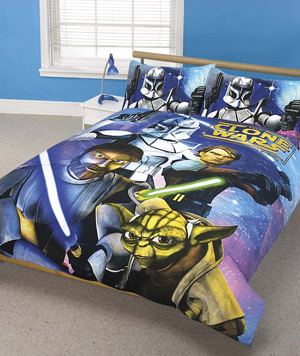 Wars The Clone Wars Double Duvet Cover Set
