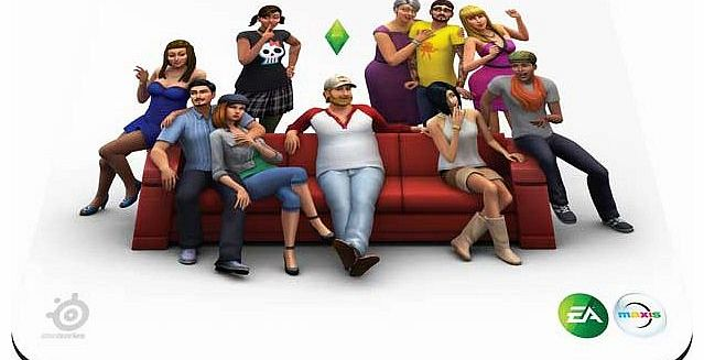 Sims 4 QcK PC Mouse Pad