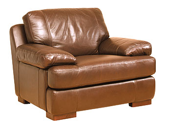 Boston Leather Armchair