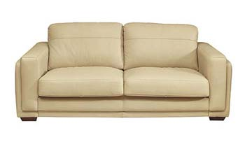 Steinhoff uk furniture ltd lennox leather 3 seater sofa in for Furniture quick delivery