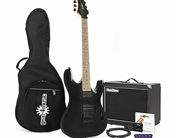 SubZero Lincoln 33 Electric Guitar   SubZero 50W Amp Pack