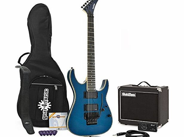 SubZero Pittsburgh Electric Guitar TB   Line 6 Spider IV 15 Pack