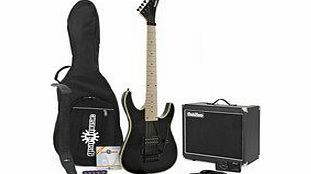 SubZero Vegas 7 Electric 7 String Guitar   SubZero 50W Amp Pack