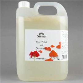suma Shampoo- Rose Petal and Geranium 5L For All