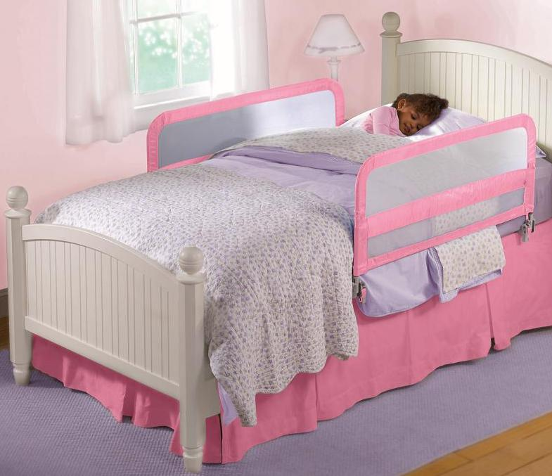 Pink Bed Guard Double
