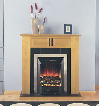 Suncrest Surrounds Limited Mayfair Electric Fireplace
