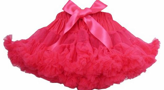Sunny Fashion BS35 Girls Skirt Dress Multi-layers Tutu Dance Pageant Bow Kids Clothes Size 9-10