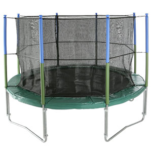 Super Tramp Sport 10 Trampoline and Sport Enclosure, 10ft