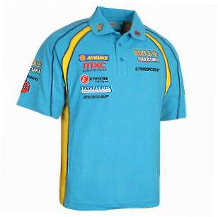 RIZLA SUZUKI Replica Team Polo Shirt