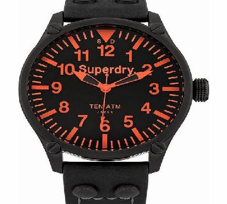 Mens Superdry Aviation Watch - Blue