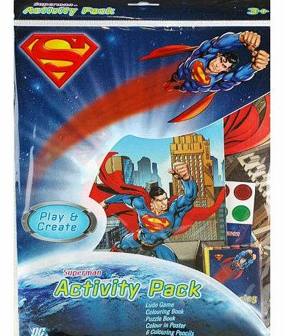 Bumper Activity Pack - Colouring Book, Poster, Puzzle And Games