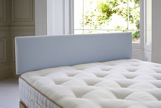 Small Single County Headboard - Powder Blue