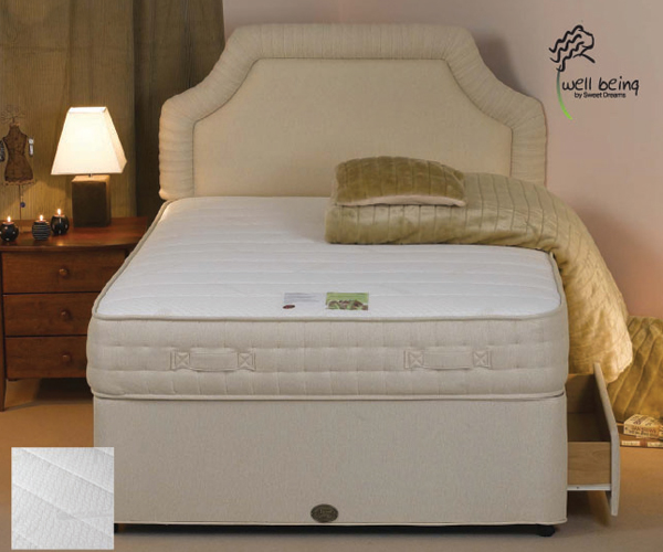 Memory Foam Single Divan Bed 2ft6 Or 3 Bed Mattress Sale