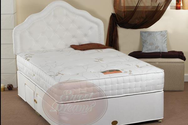 Sovereign single beds for 180 cm divan