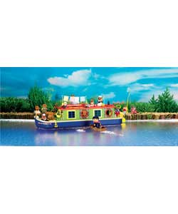 Families Canal Boat