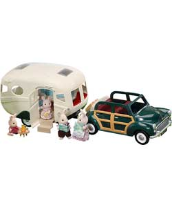 The Family Car and Caravan