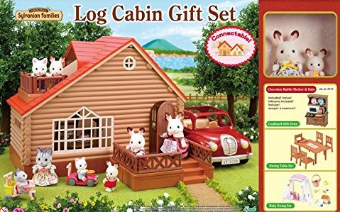 Families A1 Exclusive Log Cabin Gift Set With Added Value