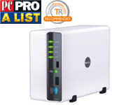 DS207 High-performance 2-bay SATA NAS Server with Advanced Data Protection and Windows ADS Authentic