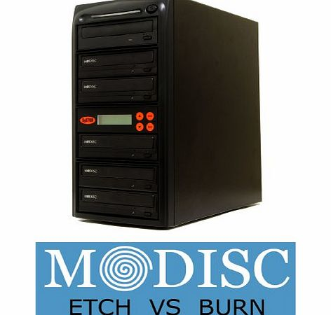 Systor 1-5 Duplicators DVD Machine M-Disc Multiple 24X Replication Support Tower Sata CD with USB Connection (£40 value)