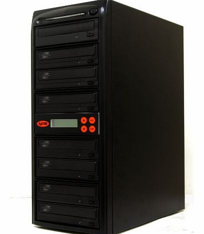 Systor 1-7 LightScribe Multi Burner 24X DVD CD Duplicator with FREE USB Connection (£40 Value)