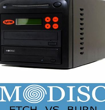 Systor 1 to 1 M-Disc 24X CD / DVD Multi Target Duplicator Tower with FREE USB Connection (£40 Value)