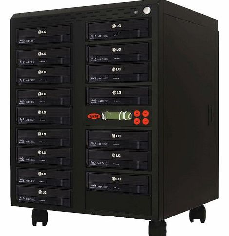 Systor 1 to 15 Blu-ray 14X BD BDXL Mdisc CD DVD Duplicator with FREE USB Connection (£40 Value)