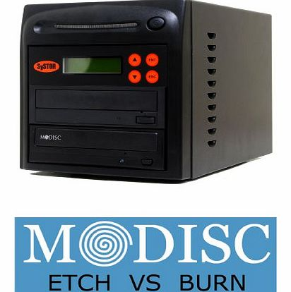 1 to 1 M-Disc 24X CD / DVD Multi Target Duplicator Tower with FREE USB Connection (£40 Value)