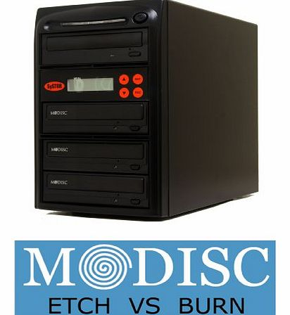 1 to 3 M-Disc 24X CD / DVD Multi Target Duplicator Tower with FREE USB Connection (£40 Value)
