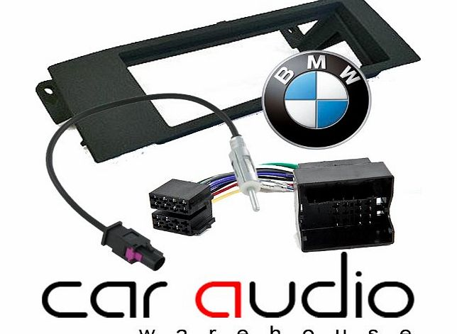 BMW 1 Series E81 E82 E87 2004 - 2013 - Car Stereo Radio Fascia Facia Panel ISO (Flat Pins) Aerial Kit