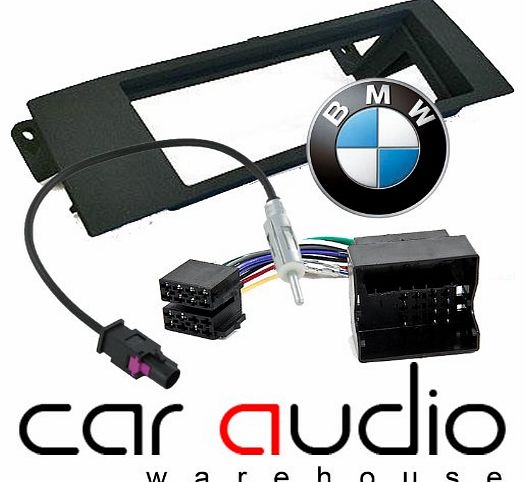 BMW 3 Series E90 E91 2005 - 2013 - Car Stereo Radio Fascia Facia Panel ISO (Flat Pins) Aerial Kit