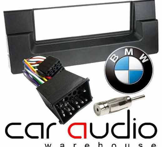BMW 5 Series E39 1995 - 2003 - Car Stereo Radio Fascia Facia Panel ISO (Round Pins) Aerial Kit