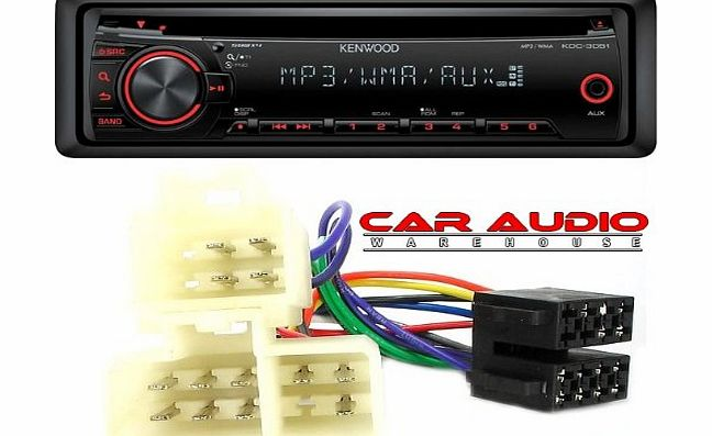 T1 Audio Nissan Micra (1983 to 2000) Complete Stereo fitting kit to allow the install of a Car Stereo System. Includes a Kenwood CD MP3 Car Stereo Player and ISO wiring harness.
