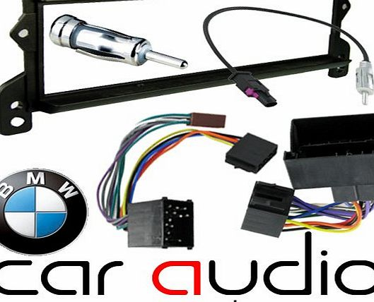 T1-24BM03 MINI PACK - BMW Mini 2000 onwards Car Stereo Radio Fascia Facia Panel ISO Aerial Complete Fitting Kit