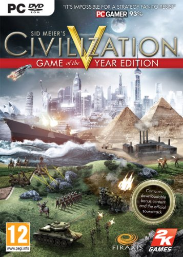Civilization V - Game Of The Year Edition (PC DVD)