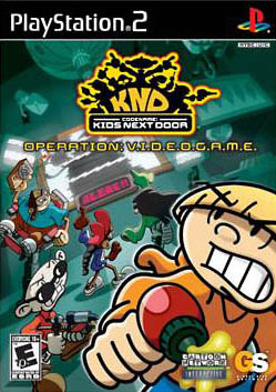 Codename Kids Next Door PS2