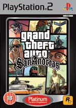 Grand Theft Auto San Andreas Platinum PS2
